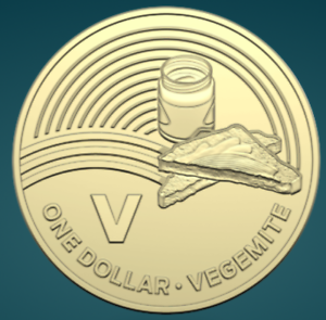 The Great Aussie Coin Hunt 2019 Unc One Dollar V For