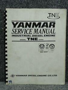 Yanmar Tne Series Industrial Diesel Engine Service Repair Manual Ebay