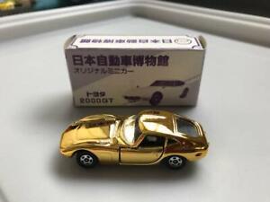 Takara-Tomy-Toyota-2000-Gt-Oro-Tomica-1-60-Miniatura-Coche-Hobby-Japon-F-S