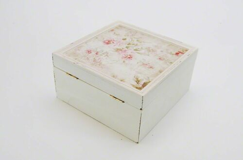 Utensilien Box Romantique Aufbewahrungsbox Landhaus Antik