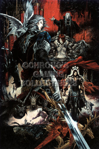 Castlevania Curse of Darkness Art PS2 XBOX CAS007 RGC Huge Poster