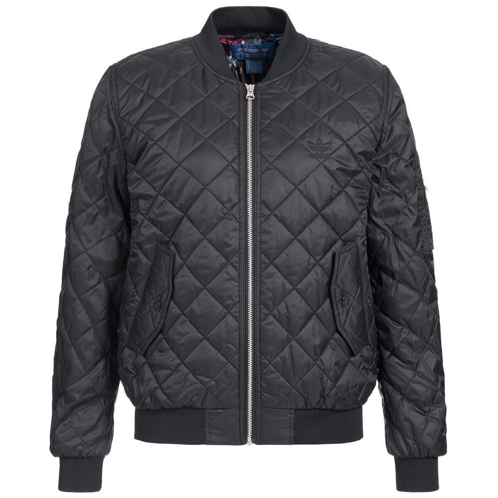 Chaqueta de invierno para mujer Adidas Originals Bomber Jacket - AY4784 - Negro
