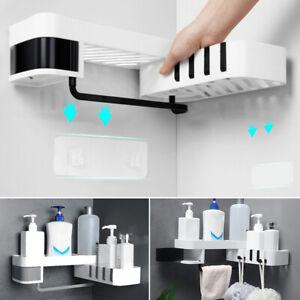 Badezimmer-Lagerregal-Regal-Handtuch-Shampoo-Seifenhalter-Heimkueche-Organizer-1x