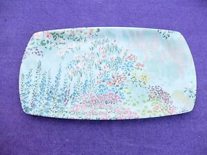 VINTAGE-MELAMINE-SMALL-SERVING-TRAY-COTTAGE-GARDEN-FLOWERS