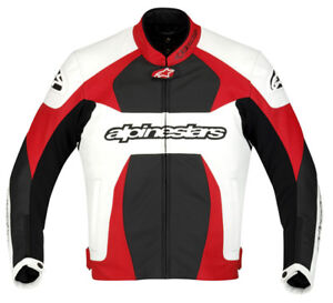 Alpinestars GP Plus R Black Leather Motorcycle//Motorbike Jacket 50