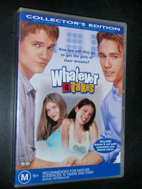 Whatever it Takes      DVD       458