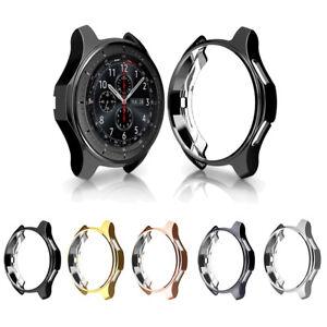 Galvanisch-TPU-Schutzhuelle-Uhr-Case-fuer-Samsung-Gear-s3-Frontier