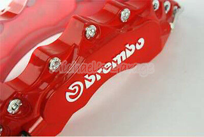 2X Brembo look Brake Caliper Cover For BMW Honda Holden Mazda Ford Mitsubish etc
