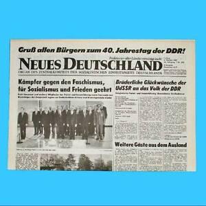 44 DDR Neues Deutschland März 1980 Geburtstag Hochzeit 39 43 ZK 42 41 40