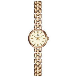 Rotary-LB02543-03-Da-donna-Timepieces-Orologio-D-039-oro-Placcato