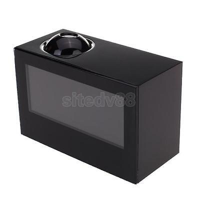 Black Digital LCD Display Projector Projection Alarm Clock Timer New