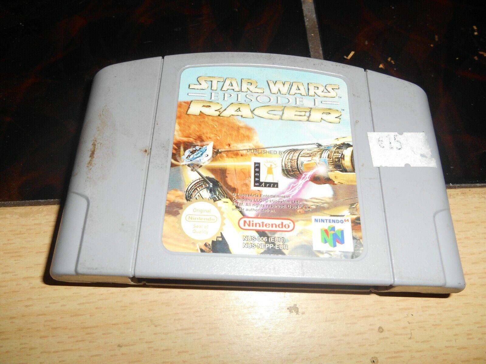 Nintendo 64 Star Wars Episode I Racer - pas cher StarWars