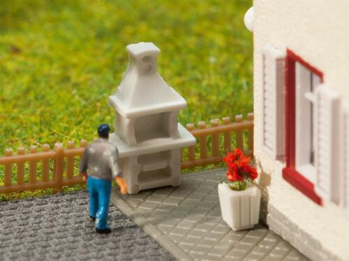 1:160 FALLER Kit Miniatures Mondes N 272901 art 2 jardin Grills