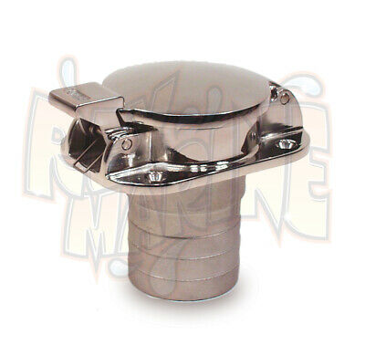 """SEA DOG STAINLESS STEEL FLIP TOP GAS FILL 351100 2/"""" MARINE BOAT"""