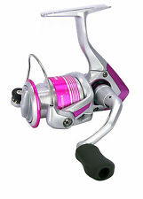 OKUMA PINK PEARL PP-30 FRONT DRAG FIXED SPOOL SPINNING REEL MATCH LADIES FISHING