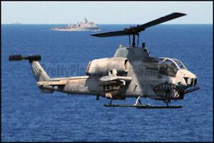 USMC-AH-1W-Super-Cobra-HMM-261-MCAS-New-River-2004-8x12-Photos