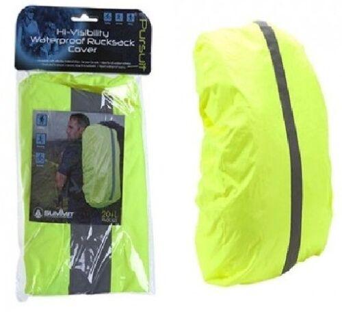 Backpack HI-VISABILITY Waterproof Rucksack DaySack Cover 20-30lt