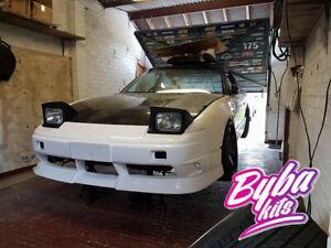 Kouki Front Lip Type X style fit Nissan S13 180sx 200sx 240sx CA SR RB