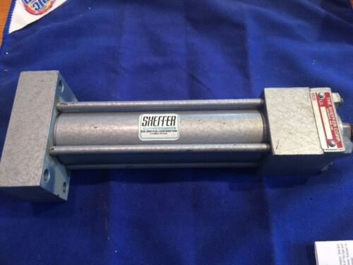 "Sheffer HH Series  1 1//8/"" Bore X 4/"" Stroke  Hydraulic  1 1//8HHRHF4A  3000psi"