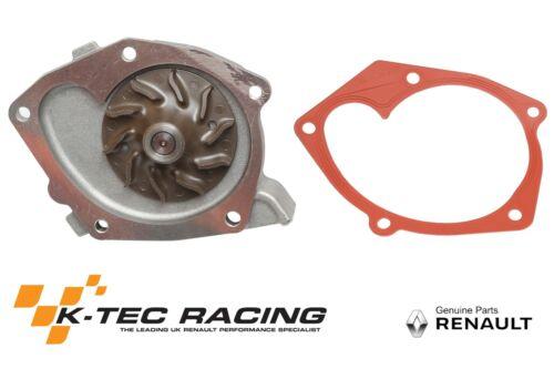 Genuine RENAULT MEGANE 2 RS 225//R26 Clio 3 RS pompe à eau 197//200 MEGANE 3 RS