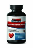 Heart Health - Blood Pressure Support 820mg - Promote Blood Circulation Caps 1b