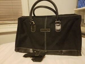 Leather Suede Duffle Bag