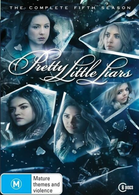 Pretty Little Liars : Season 5 (DVD) 6 Disc Set