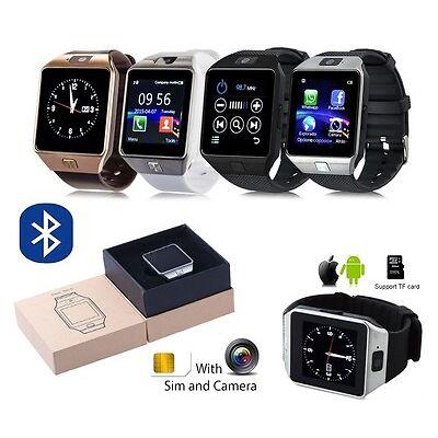 DZ09 Telefono Reloj Inteligente Bluetooth SmartWatch para Android IOS TF SIM