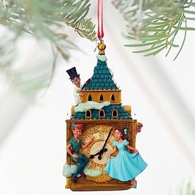 NEW Disney Store Peter Pan Michael John Wendy 2016 Sketchbook Ornament NIB CUTE!