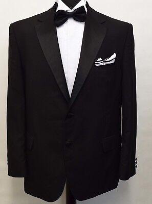 Acquista A Buon Mercato Ms3000 Marks And Spencer Uomo Nero Smoking Da Cena Suit Blazer Petto 44s-mostra Il Titolo Originale