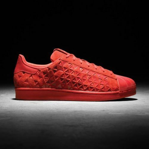 Adidas SUPERSTAR XENO Vivid MONO Red Reflective shell toe Originals AQ8181 9.5