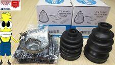 Inner & Outer CV Axle Boot Kit For Kubota RTV 900 with 4x4 2004-2014 ATV EMPI
