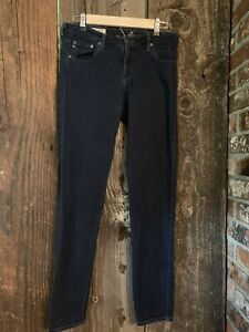 AG-Adriano-Goldschmied-The-Legging-Ankle-Jeans-Super-Skinny-Dark-Wash-Size-30-R