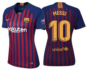 edae330f4 NIKE LIONEL MESSI FC BARCELONA WOMEN S HOME JERSEY 2018 19.