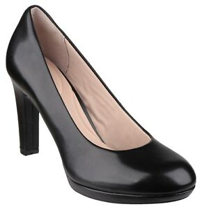 8a6daf77d9cd Rockport Seven To 7 Ally Plain Pump Womans Black Leather Ladies ...