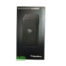 Acc-60087-001 Leather Pocket Case for BlackBerry Classic Retail Black