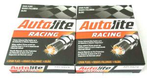 NEW-Set-of-8-pack-Autolite-AR3924-Racing-Spark-Plugs-Hi-Performance-14mm-750-034