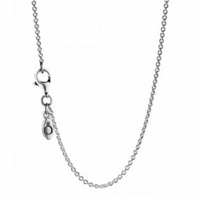 d628d2690 PANDORA 590412-45 Chain Necklace Sterling Silver Adjustable 45 Cm ...