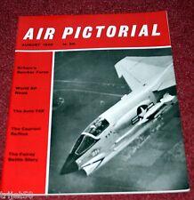 Air Pictorial 1960 August Aero 145,Bf109,Fairey Battle,Caproni Raffica