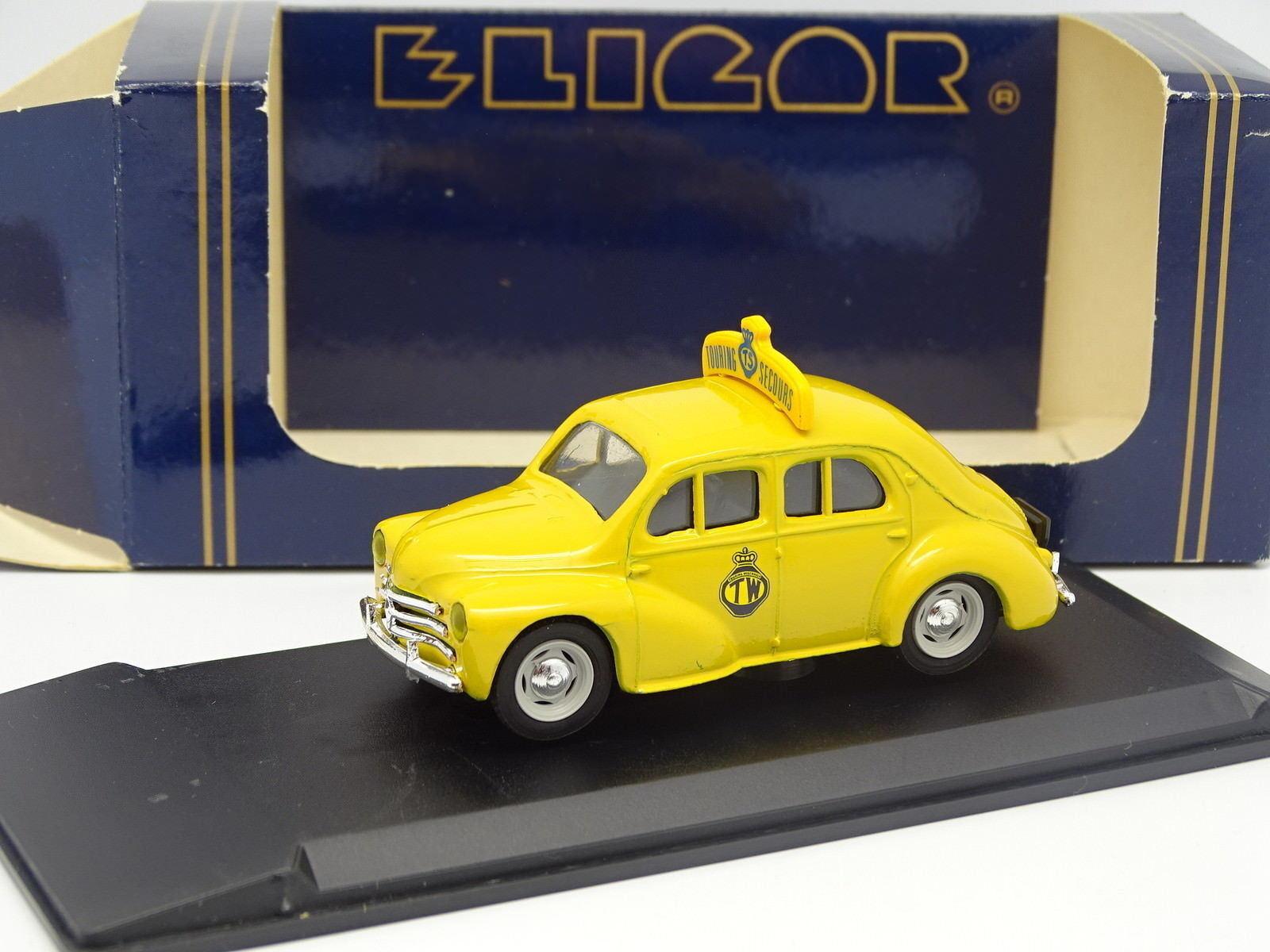 Eligor 1 43 43 43 - Renault 4CV Touring Emergencia Bélgica 816a1a