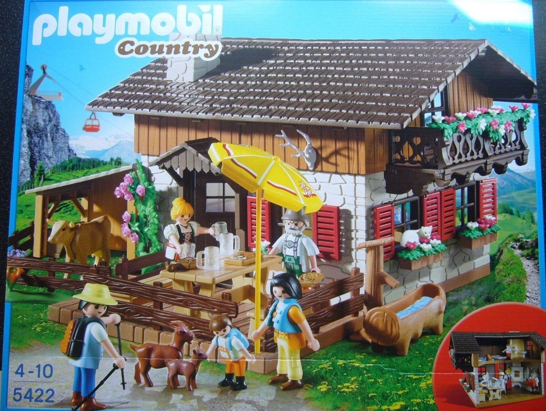 PLAYMOBIL Country 5422-almhütte + + NUOVO E OVP + +   prodotto di qualità