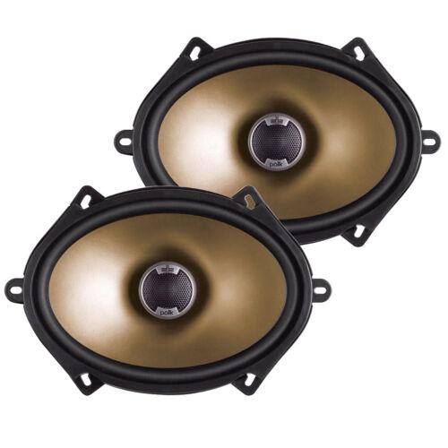 "New Pair Polk Audio Car Audio 5/"" X 7/"" 2-Way Car Audio Speakers 180 Watts Max"