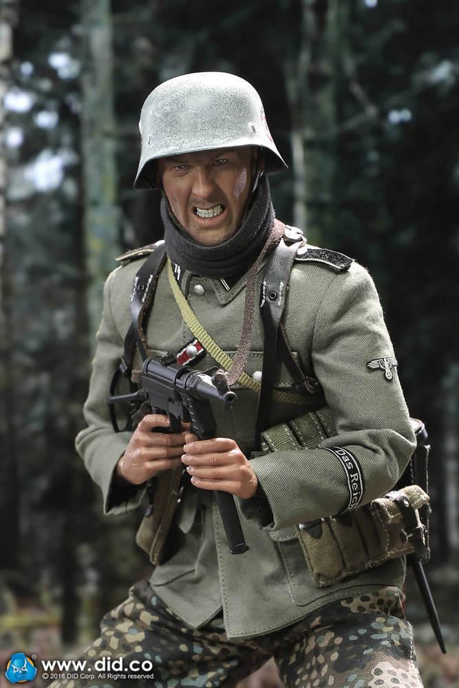 Figura De Acción alemán Egon mg DID 42 artillero B 1 6 12  en caja caliente Juguete ww11 Dragon