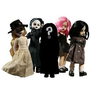 NEW-Mezco-Living-Dead-Dolls-20th-Anniversary-Complete-Set-of-5-with-Mystery-Doll