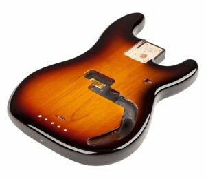 Fender-Mexico-Mexican-Precision-P-Bass-Brown-Sunburst-Alder-Body-099-8010-732