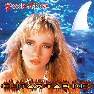 Great White Digital Guitar & Bass Tab ONCE BITTEN Lessons on