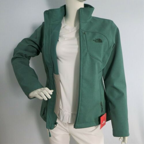 THE NORTH FACE Womens Apex Bionic Softshell Jacket Jasper Green Heather sz S~XL