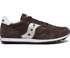 Saucony-S2866-267-Men-039-s-Jazz-Low-Pro-Sneakers-Coffee-Silver-US-8-5