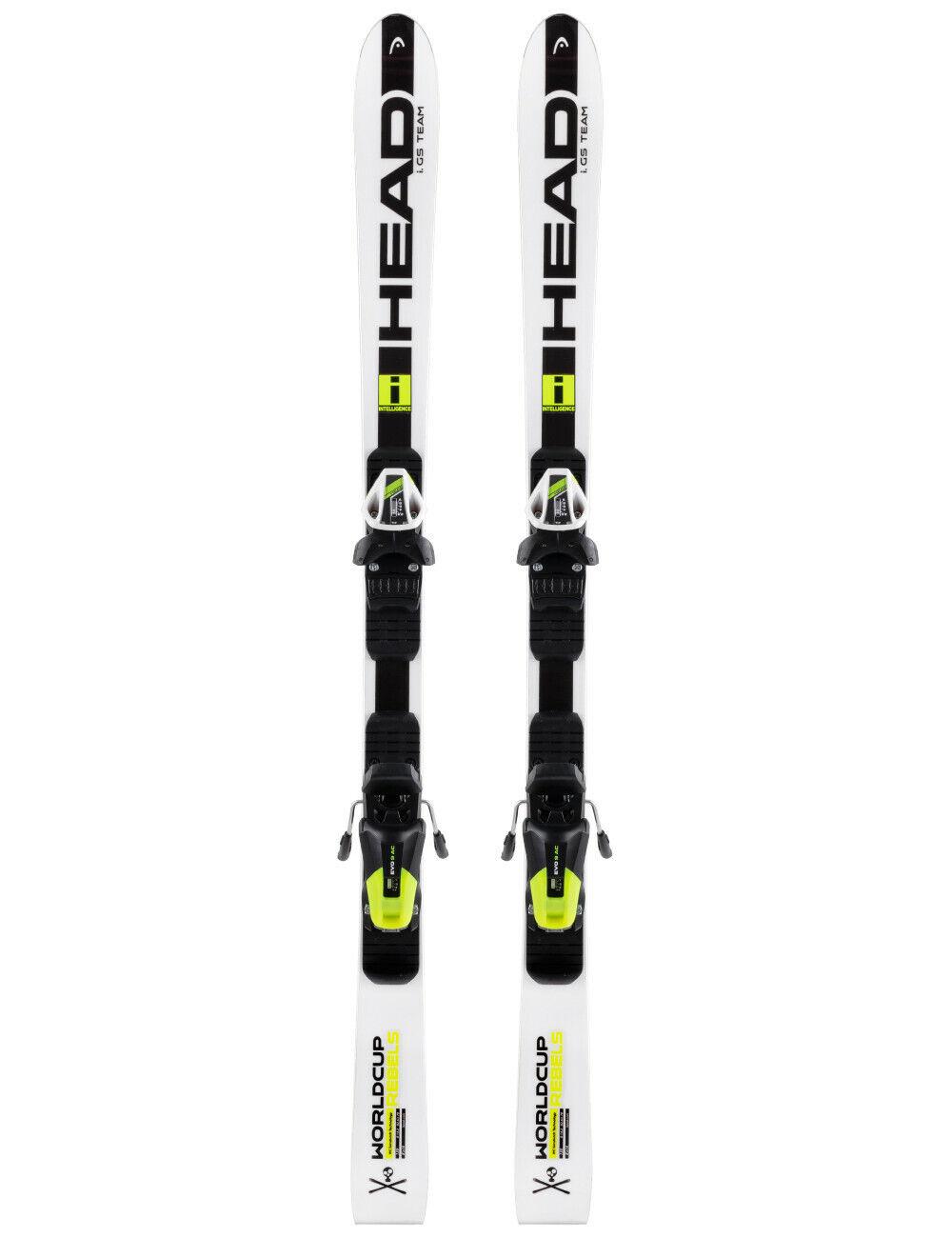 Neue Ski Head WorldCup Rebels I.GS TEAM mit Bindung Head EVO9Jr RACE LANGE 130