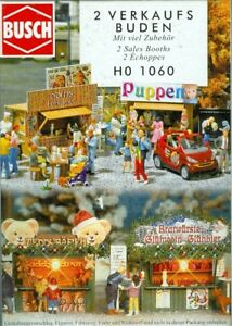 Busch-1060-Two-Christmas-Stalls-Kit-H0